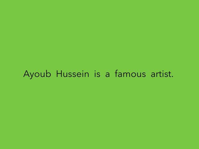 Arrange Ayoub Hussein  by Dawdaw Nashed