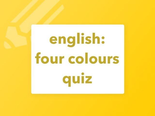 english: four colours quiz by Laksen HarEn