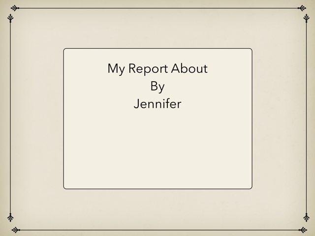 By Jennifer by Christine Snow