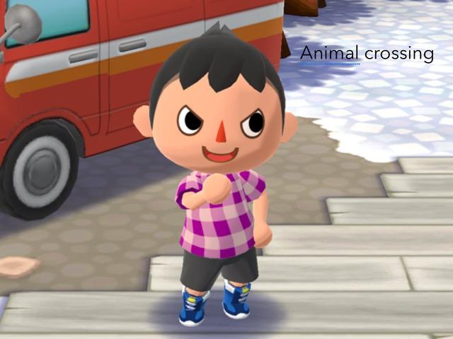 Animal Crossing Short Math Puzzle by Aiden Borlongan