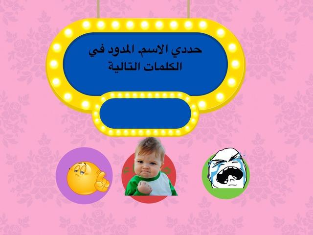 الاسم المدود  by فوزية الحربي