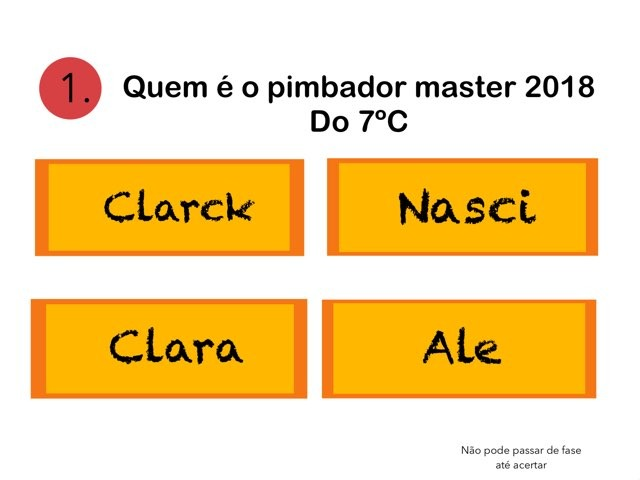 Cunha Quiz by Pedro Natali