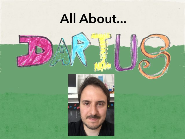 All About Darius  by Darius Powell