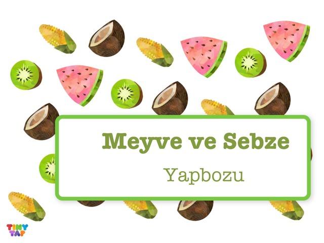 Meyve Ve Sebze Yapbozu by Hadi  Oyna