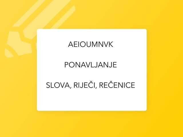 AEIOUMNVK by natasa delac