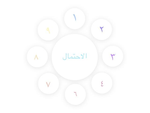 درس الاحتمال الطالبه لجين العقيلي  by لجين عبدالله العقيلي