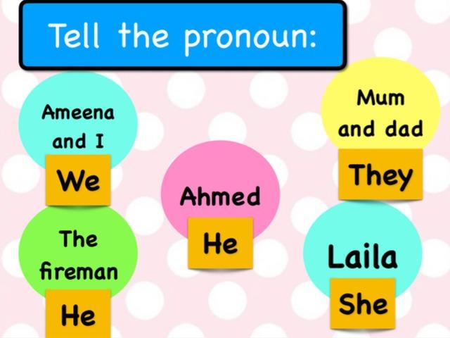 Pronouns Puzzle by Hannai rashid