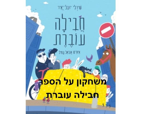 משחק על הספר ״חבילה עוברת״ by Vered Amit