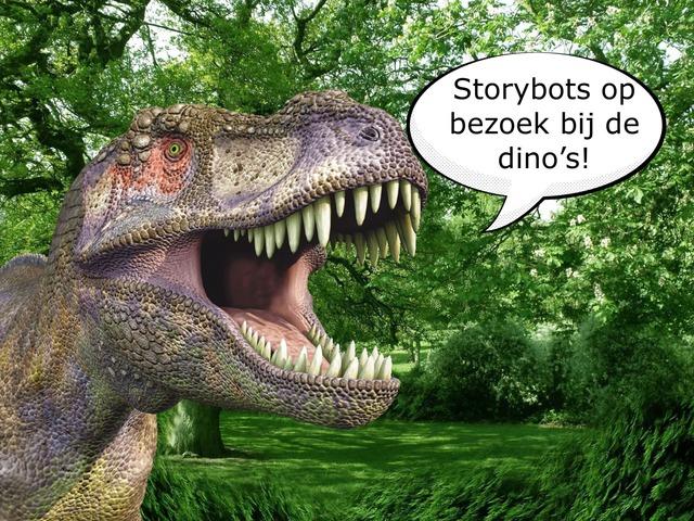 Storybots Bij De Dino's by Roel Van de Pol