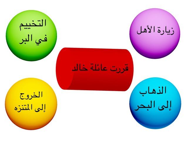رحلة الى البر  by بشاير العنزي