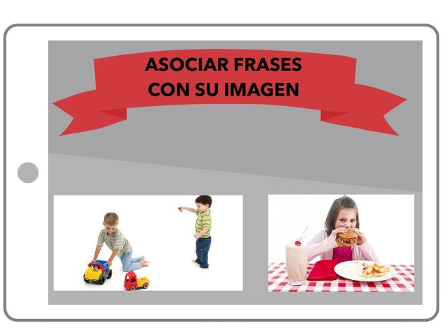 Asociar frases con su imagen by Francisco Esteve