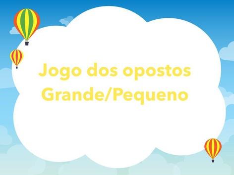 Jogo dos Opostos by Fabiana Silvério De Albuquerqu