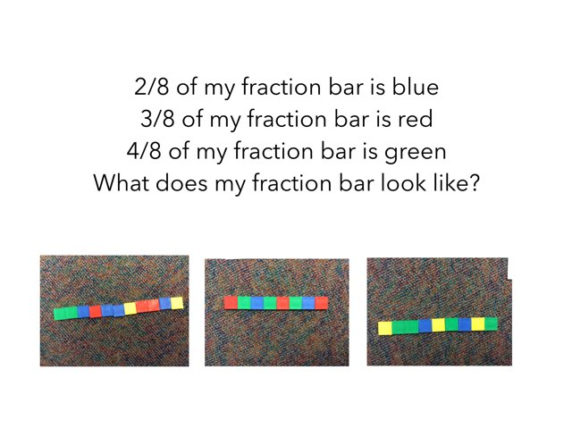 Fraction Bars by Lorene Himpelmann