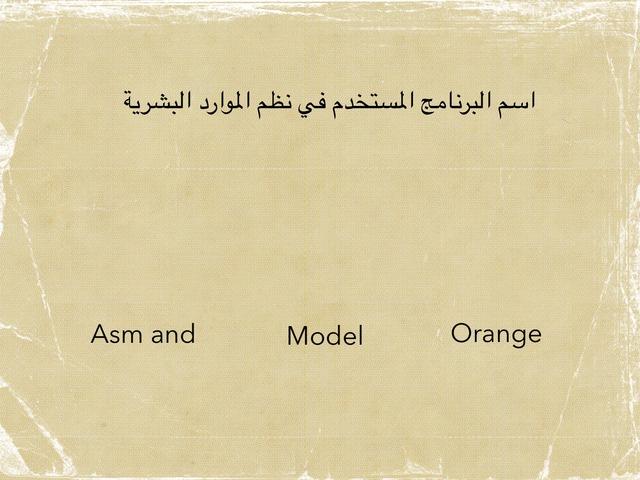 نظم الموارد البشرية by Abeer Alabeer
