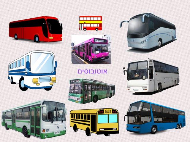 משחק האוטובוסים של איתמר by Shiri Pinkas