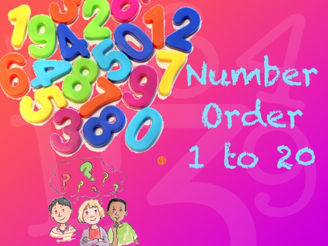 Number Order 1- 20 by Deborah Fletcher