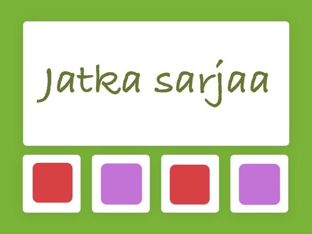 Jatka Sarjaa by Suvi Orasuo