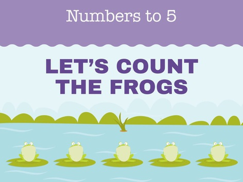 Count the Frogs (EN UK) by Miss Humblebee