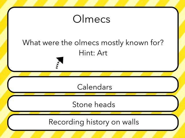 Olmecs, Etc. by Diane Romero