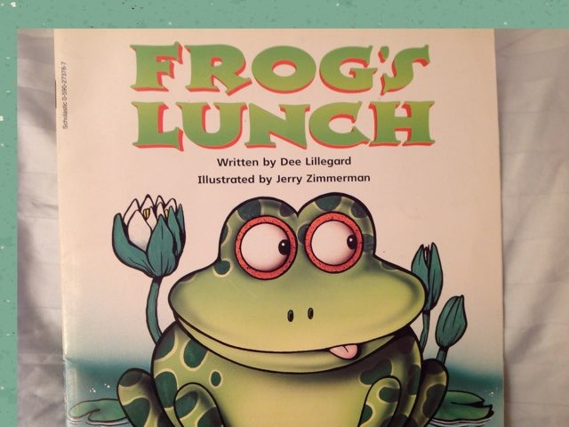Frog's Lunch by Lori Board