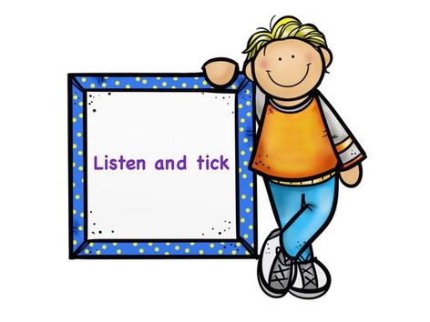 Listen And Tick by Hoba Hema