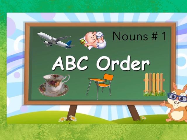 ABC Order: Nouns #1 by Carol Smith