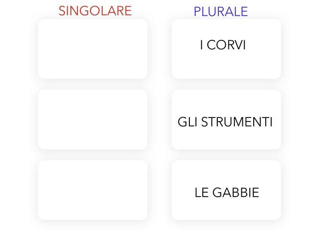 Scrivi il singolare (articolo + nome) by Michela Martelli