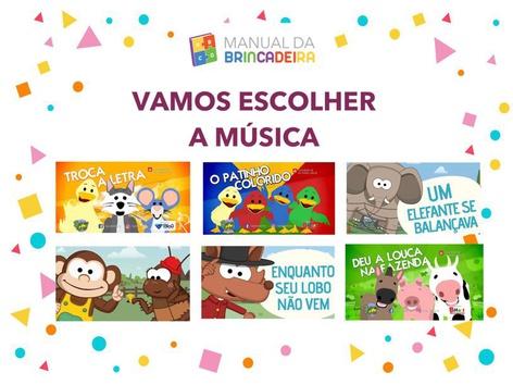 Vamos Escolher A Música 3 - Manual Da Brincadeira  by Manual Da Brincadeira Miryam Pelosi