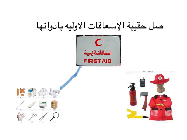 حقيبة الاسعافات الاوليه by زوزو العسل
