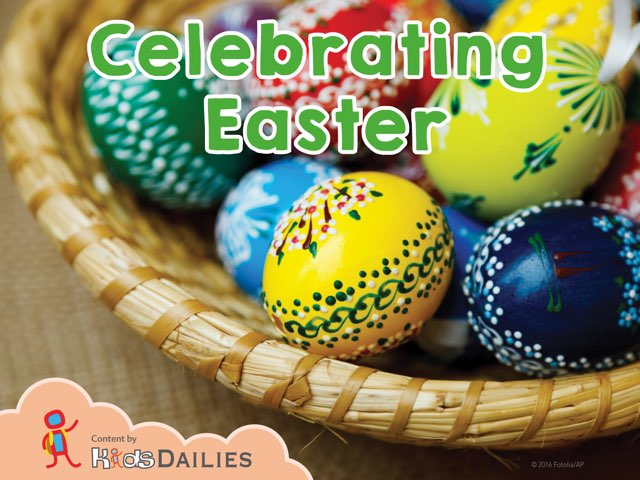 Celebrating Easter by Kids Dailies