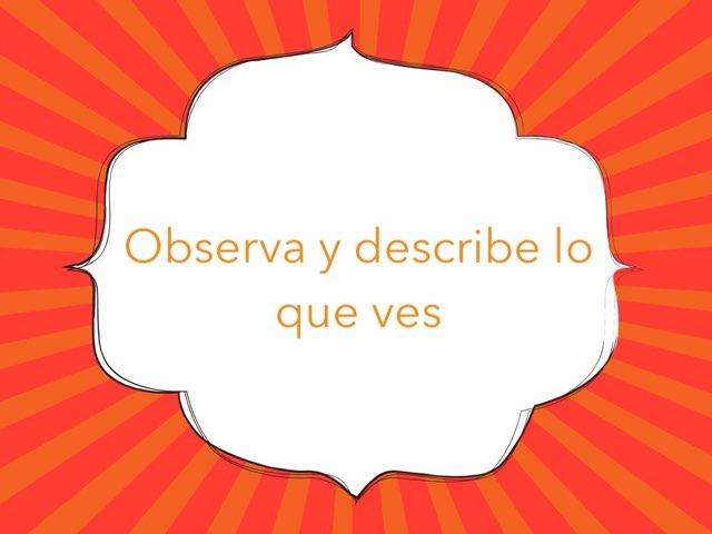 Observa y Describe by Toñi Arteaga Lucas