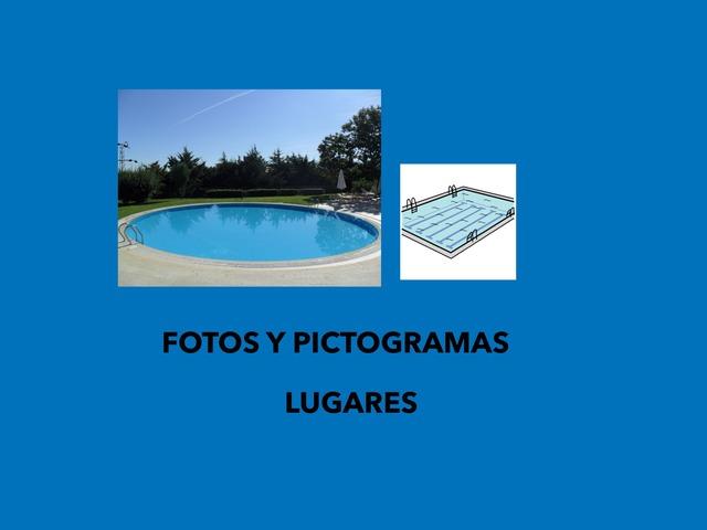 Asociar pictogramas de Lugares Con fotos by Francisca Sánchez Martínez