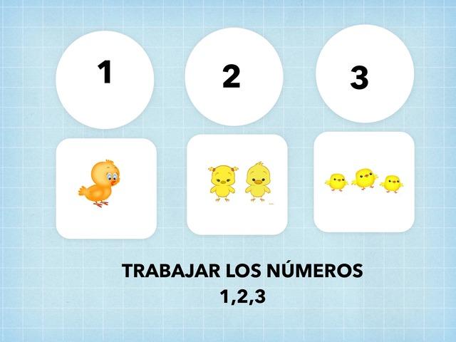 TRABAJAR LOS NÚMEROS 1,2,3 by Francisca Sánchez Martínez