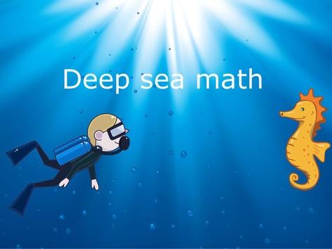 Deep Sea Math by Frederick Boateng