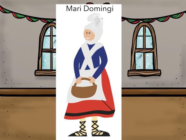 Mari Domingi osatu by Maritxu Leizagoyen