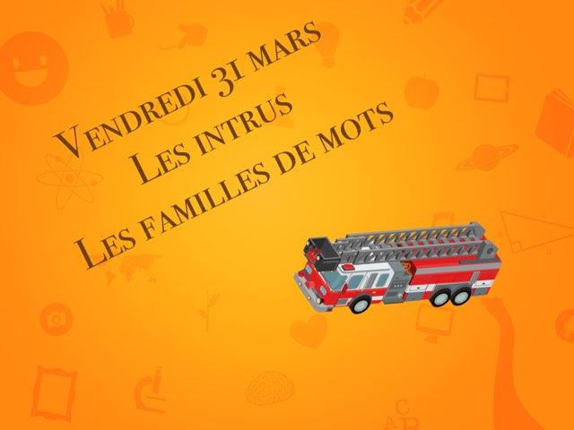 L - Ven31 - Intrus Et Familles  by Caroline Gozdek