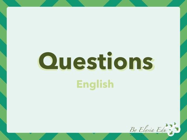 Questions by Fran Sarrión