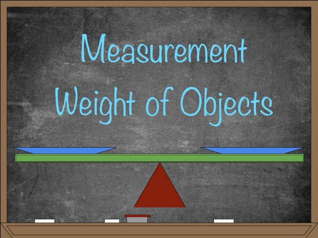 Measurement: Weight by ECS Frisco