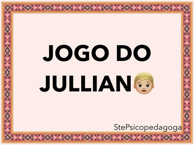 Jogo Do Jullian. by ۞Ste Lonza