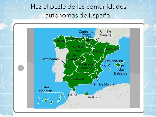Las Comunidades Automomas.  by Amaya Sanchez Arias