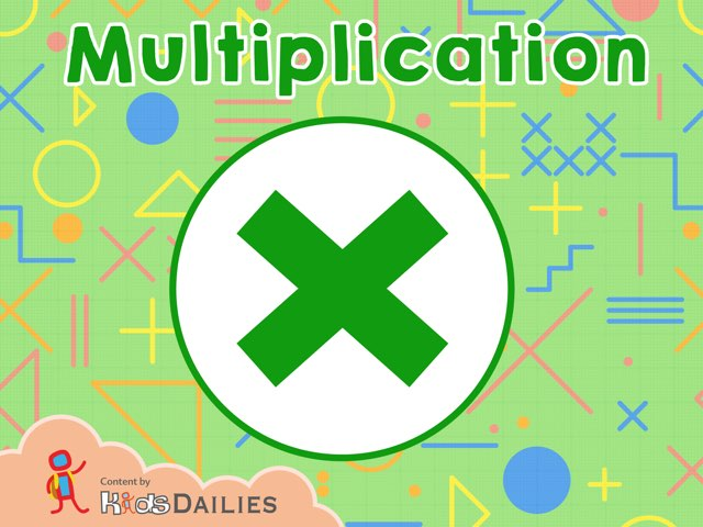 Multiplication  by Kids Dailies