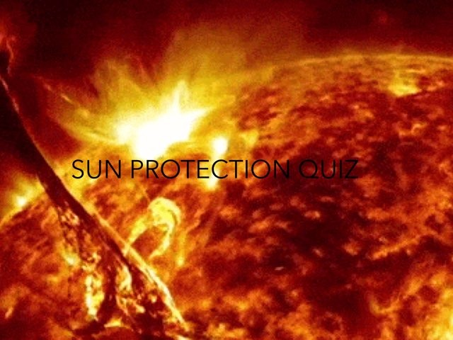 THE SUN QUIZ by RGS Springfield