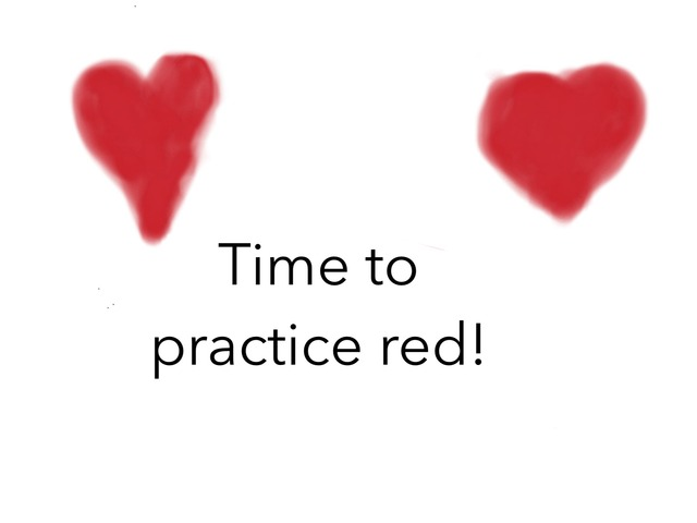 Learn About Red! by Arizana Jakupaj Krasniqi