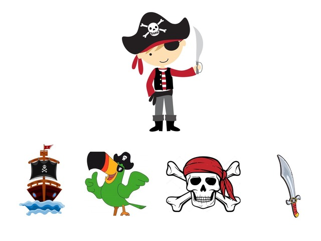 Personagens Do Luiz - Pirata by kaiene lima