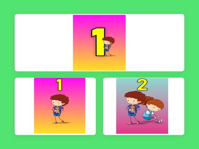 1-10 התאמה בין תמונה למספר by Yifat Simcha