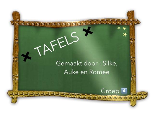 GROEP 4 TAFELS ✖️ by Silke Broekkamp