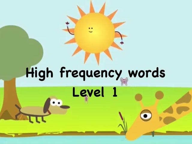 K2 Term 3 High Frequency Words by Cher Leah