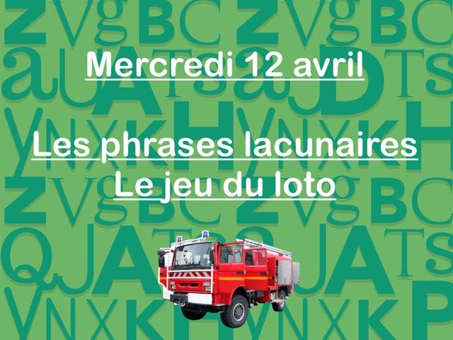 L - Mer12 - Phrases Et Jeu Du Loto  by Caroline Gozdek
