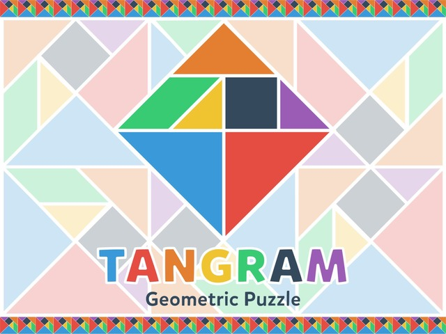 Tangram - Geometric Puzzle by Tiny Tap