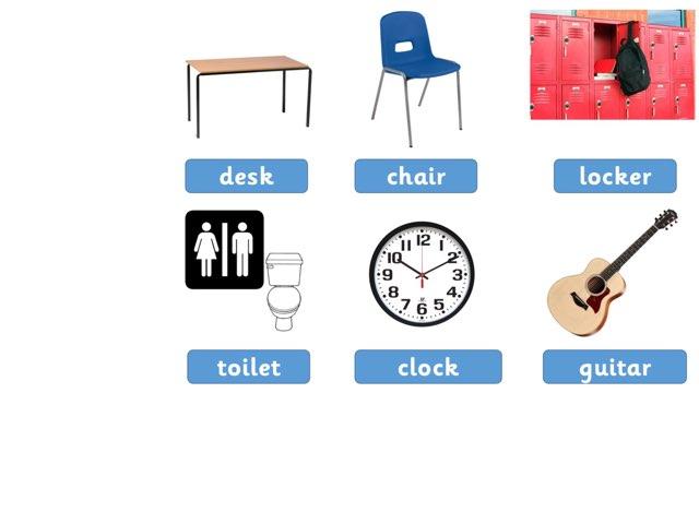 Classroom Objects 02 by Glenn Bridges